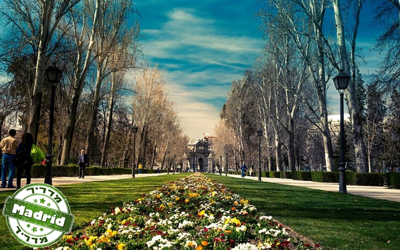 מדריד בעונת הסתיו (צילום: דן אורן)