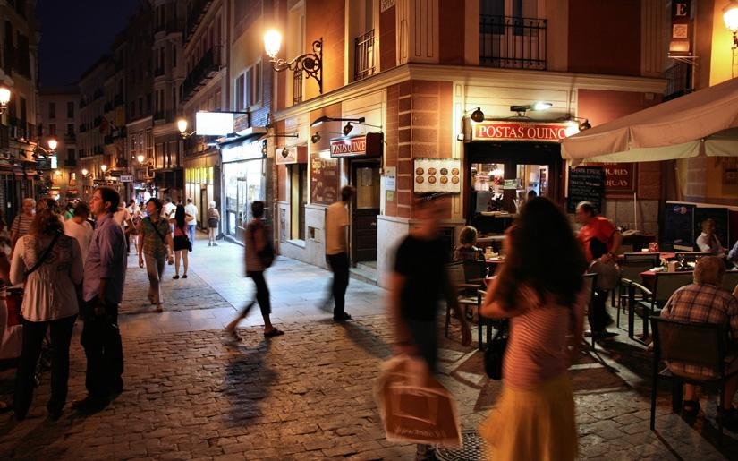 מדריד בלילה - מרכז הבילוי לצעירים